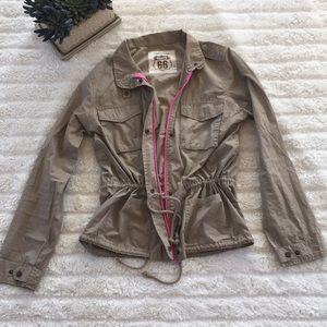 ROUTE 66 light weight tan field jacket